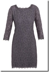 Lace Dress Grey