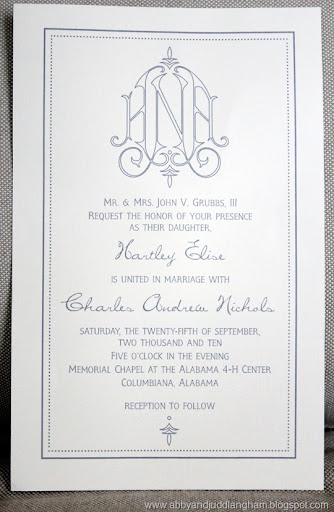 Wedding Invitation Font