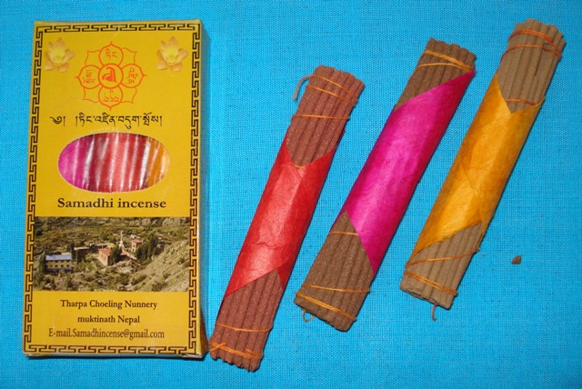 Samadhi incense (3 in 1)