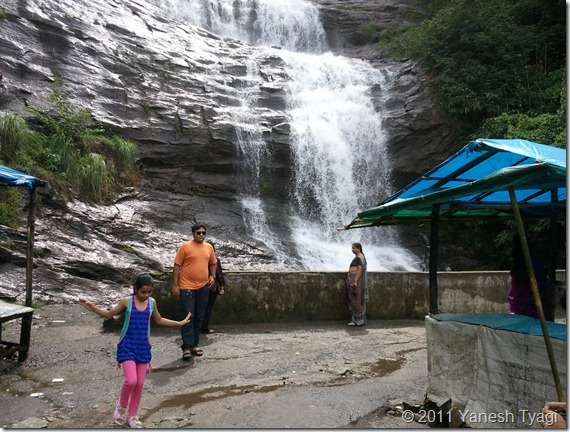 017. Cheeyappara waterfall - one of the rare falls which you can see from bottom