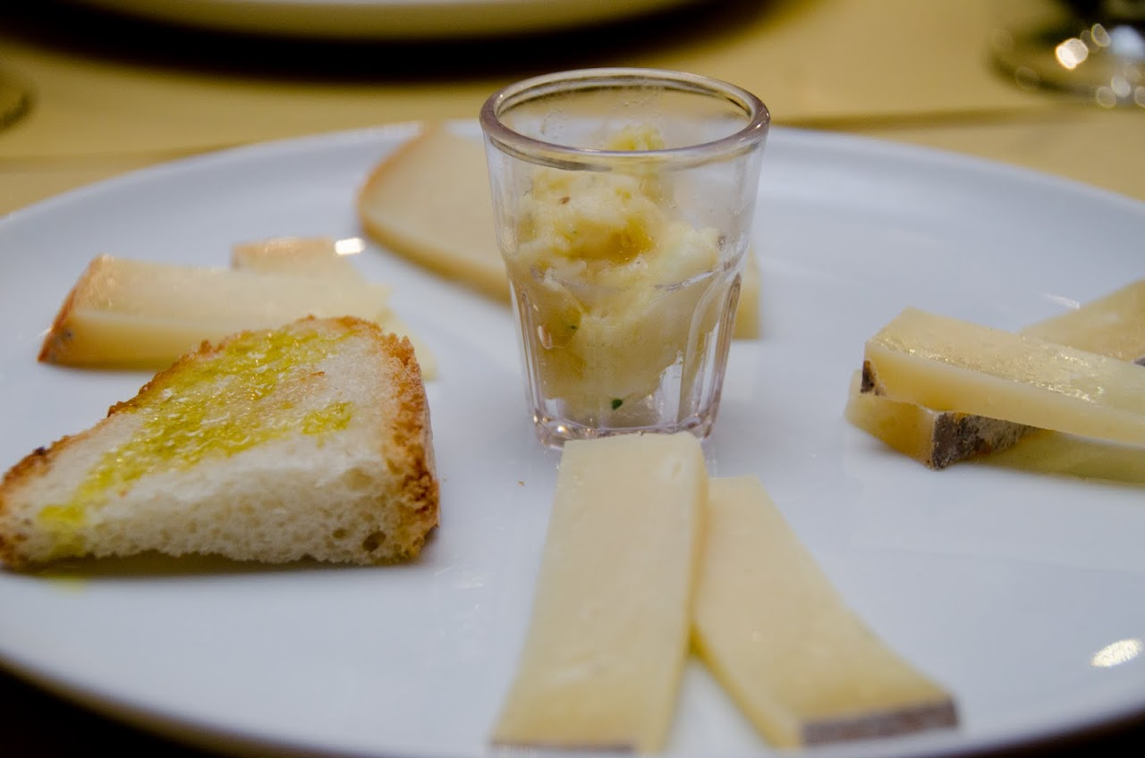 Pecorino with truffles