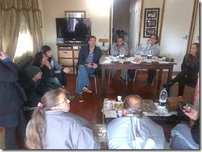 Juan Pablo de Jesús se reunió con vecinos y visitó  el Club de Las Toninas