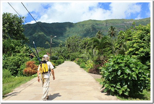 Puamau village