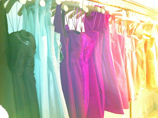 J.Crew has bridesmaid dresses in every color of the rainbow.