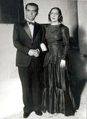 Federico García Lorca y Lola Membrives