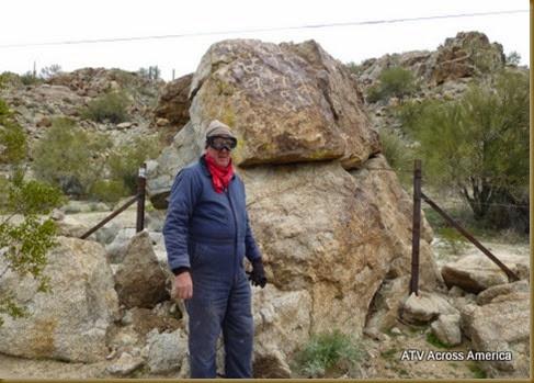 Petryoclyph rock