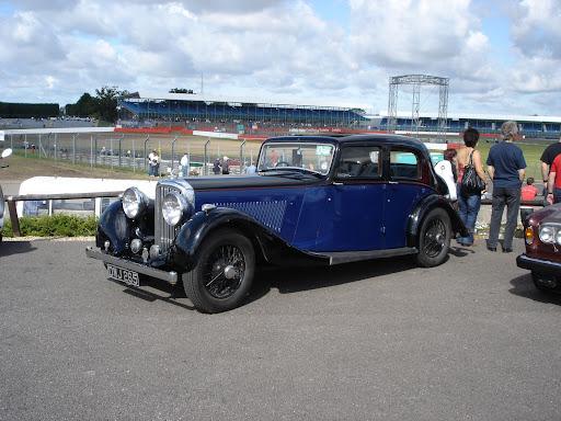 silverstone classic car