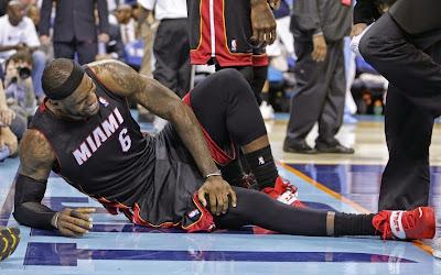lebron james nba 140428 mia at cha 01 game 4 LeBron Enters Soldier Mode Again as Miami Sweeps Charlotte