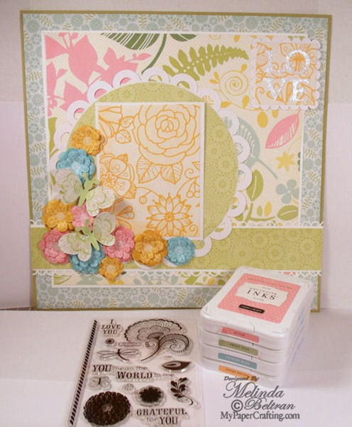 closet to my heart layout project idea stamps inks 500