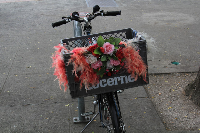 September/October 1st Place /What appears to be a wedding bicycle in downtown Bellingham. /Credit: Danielle Siedlecki