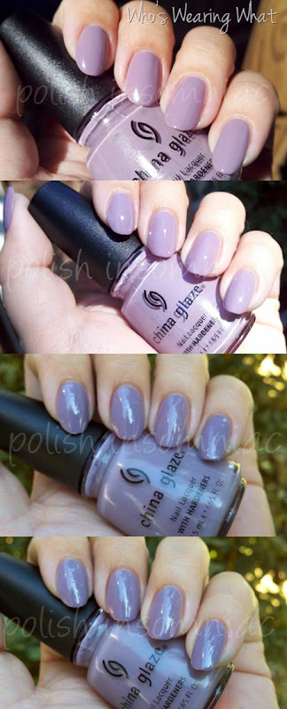 China Glaze Who's Wearing What - Throwback Thursday