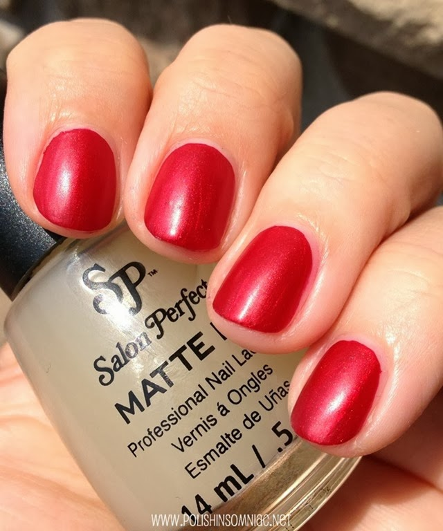 Salon Perfect Scarlet Enchantment with Matte FX 2