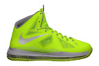 nike lebron 10 gr atomic volt dunkman 0 01 Nike, This is How We Want Our Volts! With Diamond Cut Swoosh.