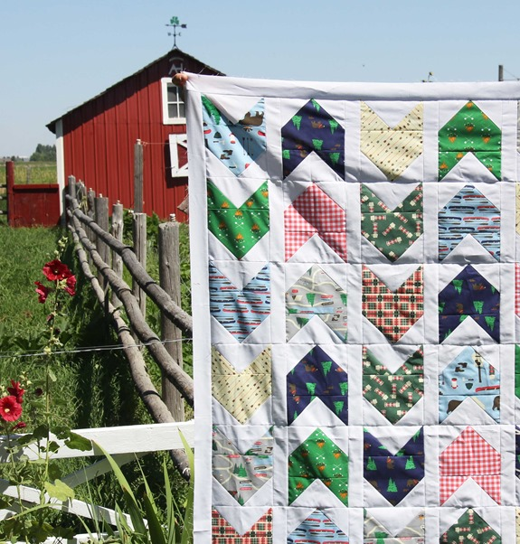 Take a Hike Pow Wow Quilt