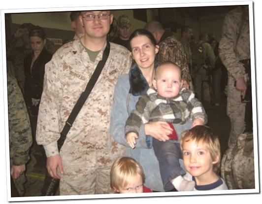 Matthew Amanda and the kids
