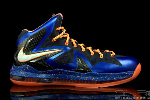 The Showcase Nike LeBron X PS Elite Superhero Lace Swap
