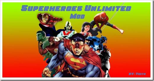 Superheroes-mod-Minecraft