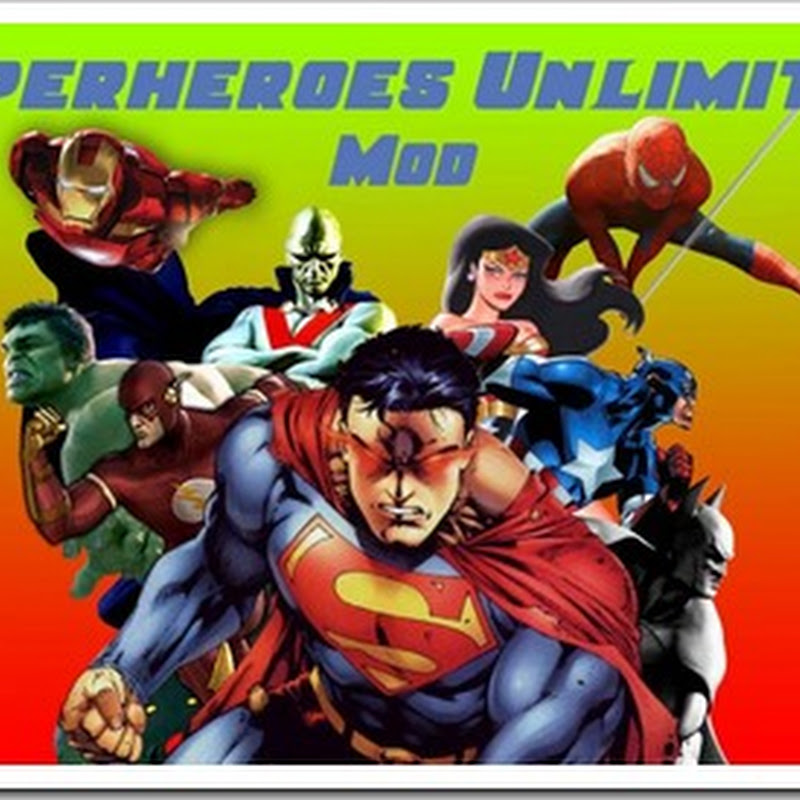 Minecraft 1.5.1 - SuperHeroes Unlimited Mod