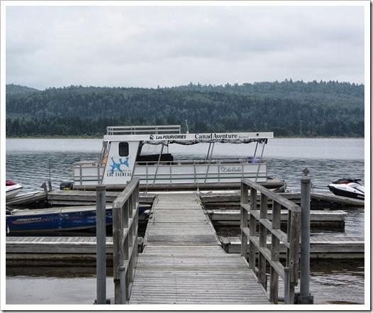 Lac Taureau - canadaventure - ponton