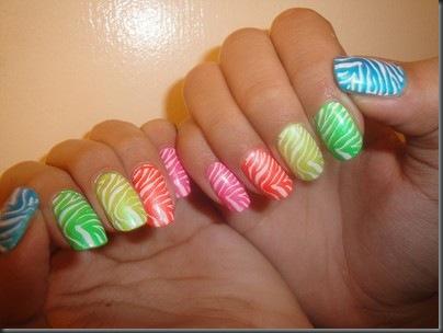 poze unghii colorate