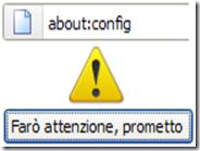 Aggiungere la descrizione ai parametri about:config di Firefox