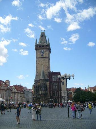 Imagini Cehia: Primaria Veche din Praga