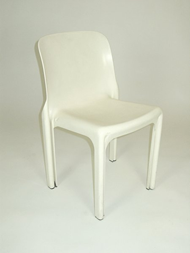 Selene chair, white