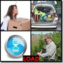 LOAD- 4 Pics 1 Word Answers 3 Letters