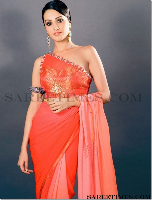 Anitha_One_Shoulder_Saree_Blouse