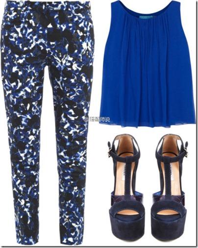 Royal Blue Mix N Match 06