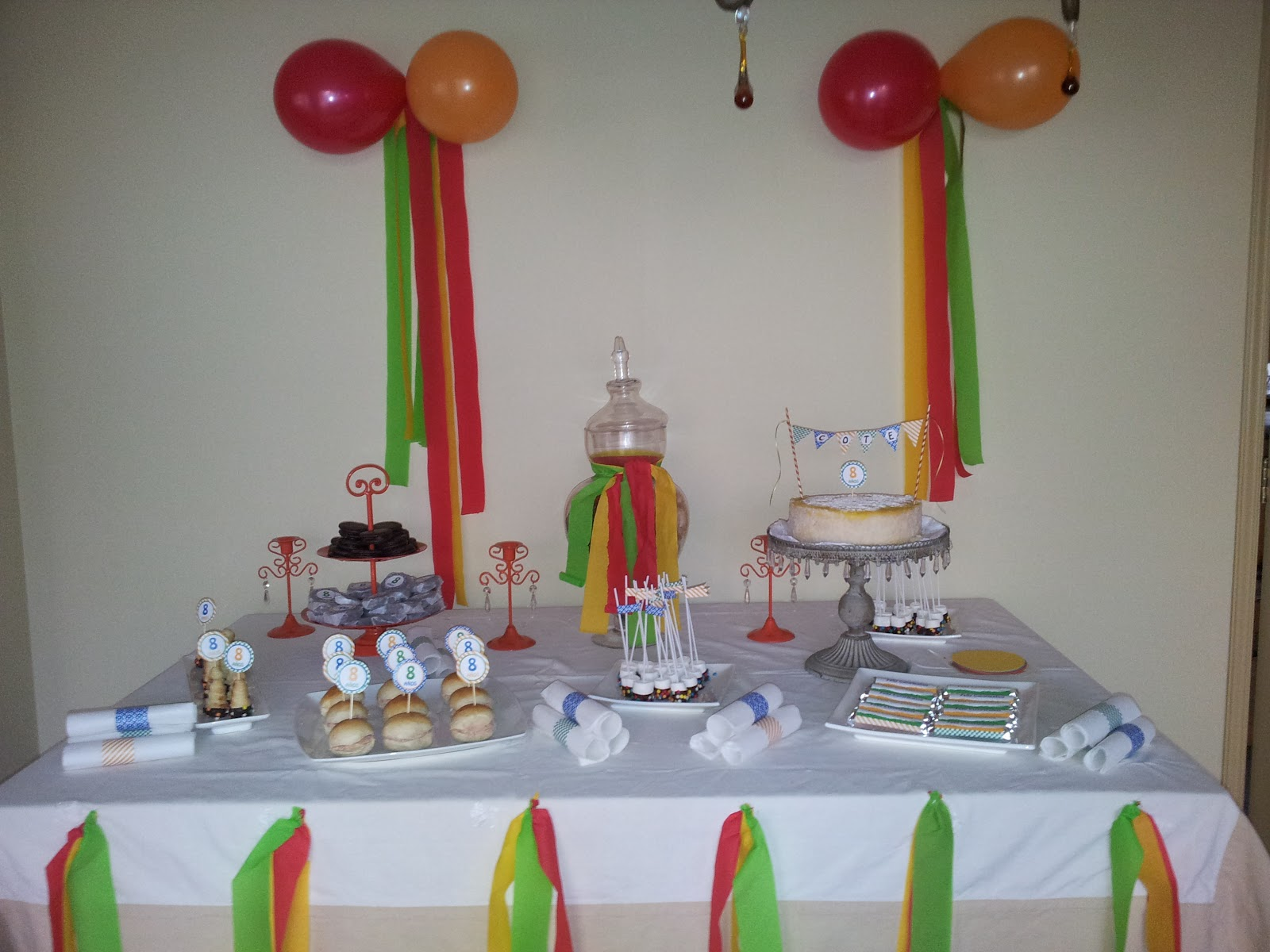Decoracion para cumplea os de 50 a os quotes links - Fiesta cumpleanos 8 anos ...