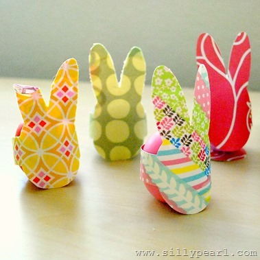 Bunny Rabbit Easter Eggs - The Silly Pearl