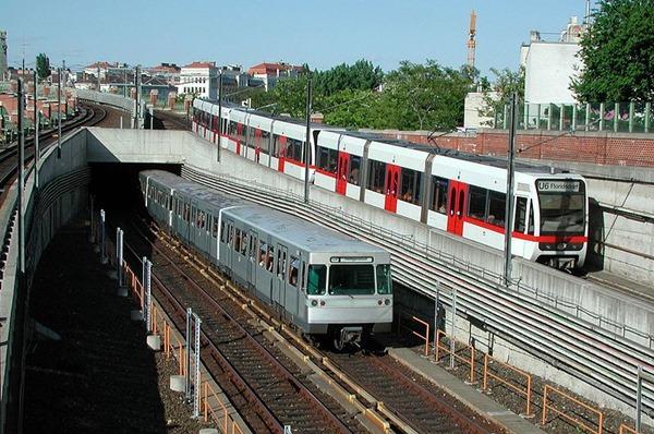 خطوط مترو فيينا
