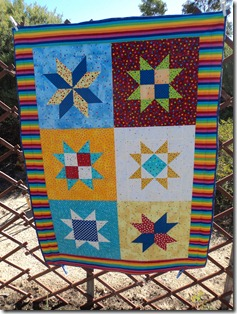 Baby Quilt 30.5.2012