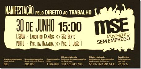 Manifestação 30 Junho. Jun2012