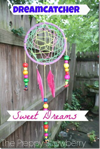 Dreamcatcher Tutorial {The Preppy Strawberry}