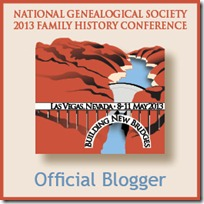 NGS 2013 Official Blogger