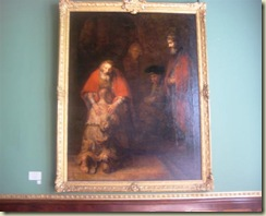 Rembrandt Return of the Prodigal Son (Small)