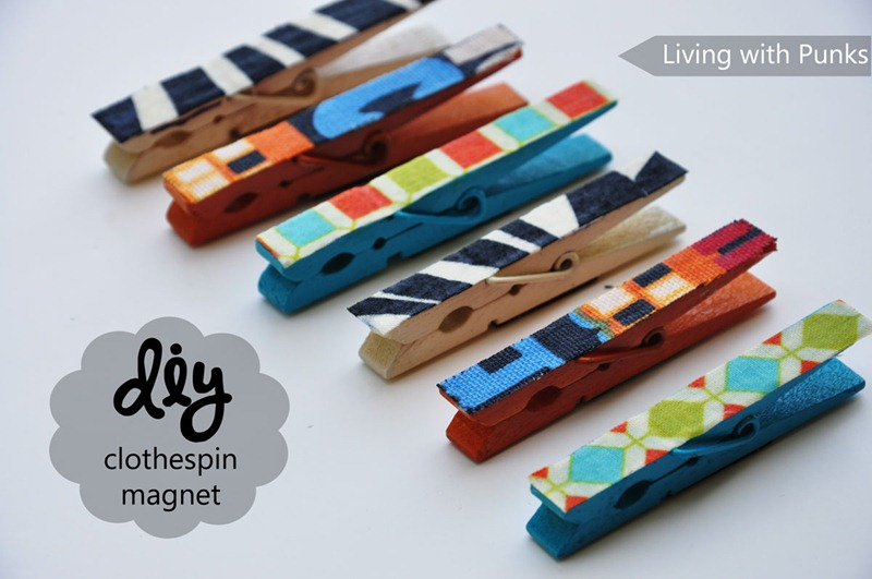 DIY-Clothespin-magnets