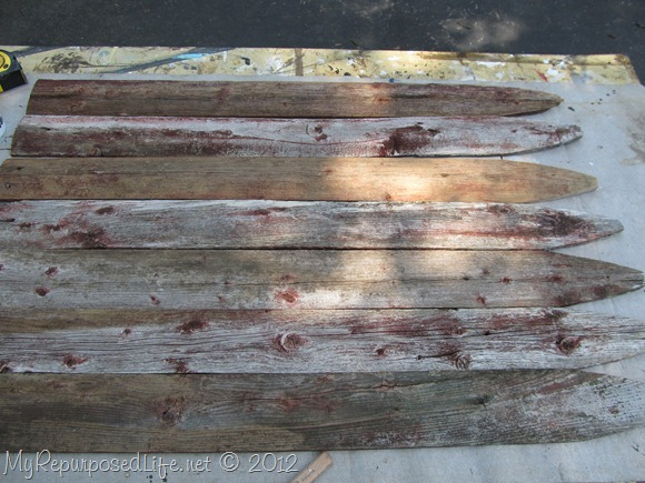 Americana Flag (Repurposed Fence) (7)