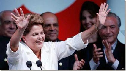 Dilma - Victoria elecciones 2014