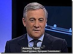 Antonio Tajani - Comissario Industria. Dez 2012