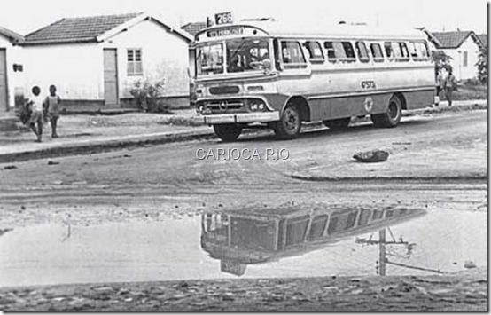 Cidade de Deus nos anos 70.