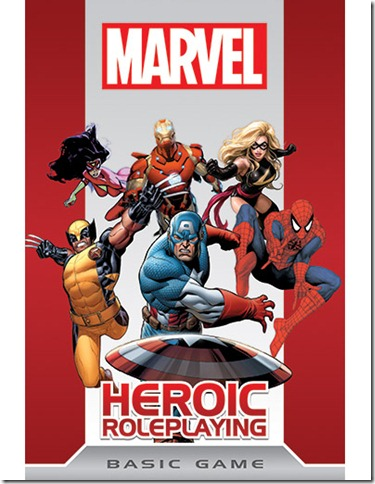 Marvel Heroic Roleplaying Cover
