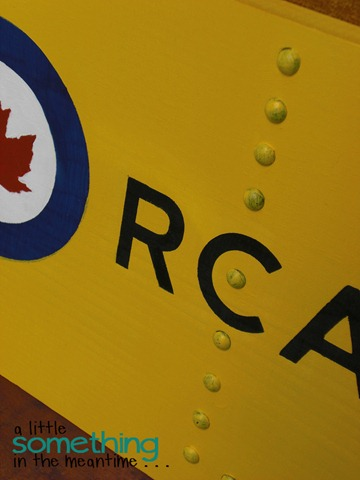 RCAF Sign Finished 1 WM