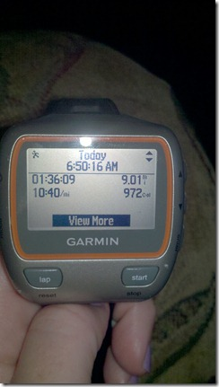 9 miles garmin june 26th