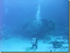First view of the wreck