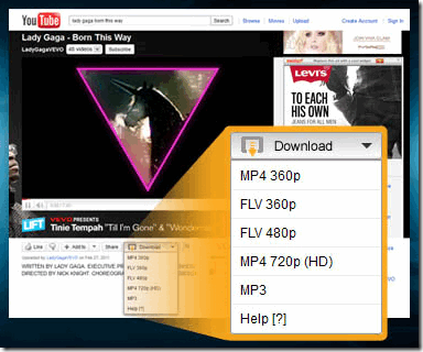 Easy YouTube Video Downloader Firefox Add-On
