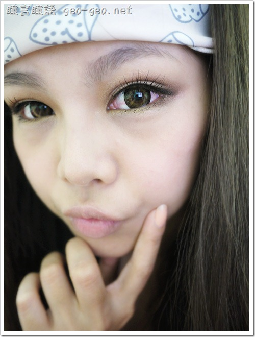 ( 8 ) 品牌:日本Messish KiraKira SweetyEye-Brown糖果咖