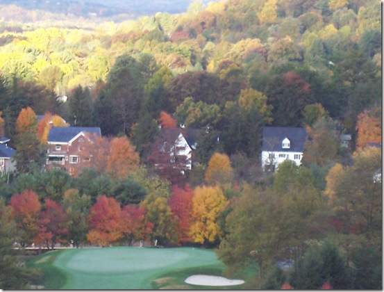 76 Morning View from Room at Grove Park